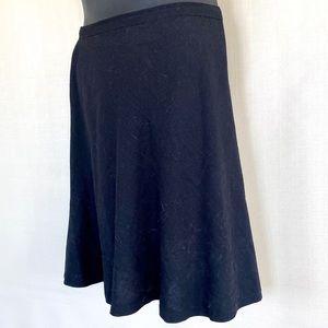 Dresses & Skirts - Black Skirt, knee length, handmade.
